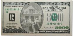 8000 bill